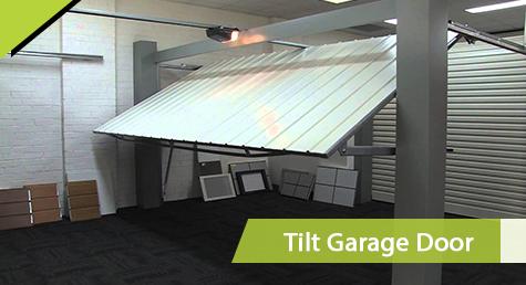 Tilt Garage Door Opener